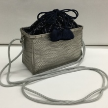 "The finest ""Special Bamboo Bag"" Platinum BK"