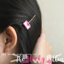 Love Letter Secret Message Hair Pin - Felt Kawaii Cute Miniature Accessories Limited Edition by The Blushy Kitten {READY TO SHIP}