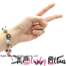Yarns & Kittens Charm Bracelet - Felt Miniature Accessories Limited Edition by The Blushy Kitten {READY TO SHIP}