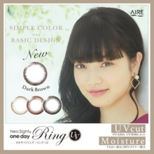 Neo-sitewander rings UV<br>[Color contact lenses / 30 / day]
