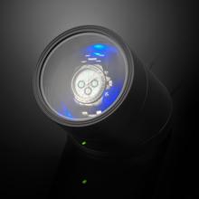 Es'prima automatic mechanical watch winder LED light function shaker ES10100