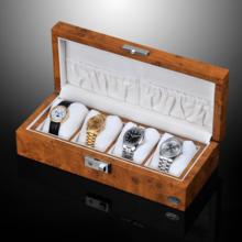LUHW wooden 4 grid watch storage box watch list collection box LU51005