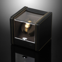 SPI leather single turn AC / battery dual-use automatic mechanical watch winder shaker SP43021