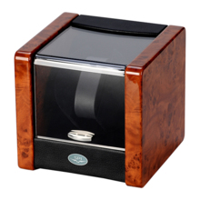 SPI wood single turn AC / battery dual-use automatic mechanical watch winder shaker SPI090095