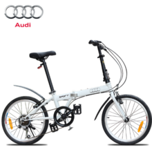 20 inch folding bicycle mountain bike 6 speed bicycle professional men and women for gift car