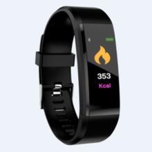 115plus smart bracelet heart rate blood pressure monitoring