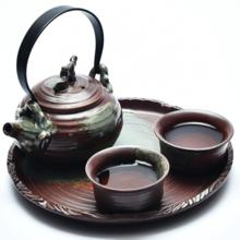 佐尓 陶瓷茶盘茶具套装功夫干泡台迷你小茶台托盘整套茶海礼品