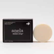 Double use of glycolic acid + lactic acid fruit acid (AHA)! Sustained bubbles rinse out old horny matter and prevent acne and rough skin. anela (Anella) Manasorpe plus 50 g [with lather net]
