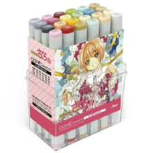 Limited copic sketch card capter sakura collabo 24 color set