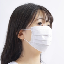 Maritime Self Defense Force Yokosuka Maintenance Supply Office Procurement Face-friendly smart mask 40 sheets small box