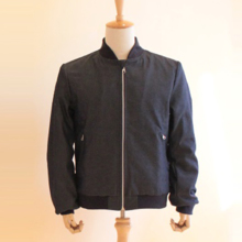 Domestic domestic denim blouson