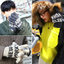 Men and women couple autumn and winter gloves DM074