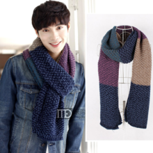 Autumn South Autumn Winter New Korean Thicken Wool Scarf Men and Women Scarf DW080