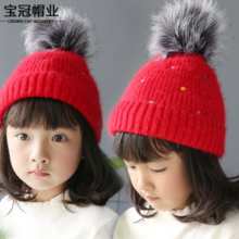 Children's wool cap manufacturers wholesale DER-6