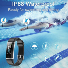 Cross-border explosion models id130c heart rate step by step WeChat reminds 14 sports mode smart bracelet