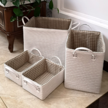 Japanese Nordic straw storage basket