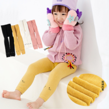 Girl warm pants cold leggings thickening plus velvet CRJ1803