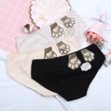 NO.8 new lace side ladies underwear romantic cotton mid-waist bag hip ladies underwear lace side ladies underwear