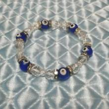 Nazar Bonju and natural stone bracelet