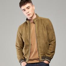 Spring men's new suede casual men's jacket