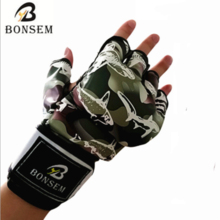 BonSem half finger glove MMA gloves Sanda fight sandbag gloves