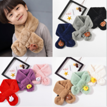 Children's scarves, rabbits, rabbits, autumn and winter, parents, men and women, baby, warm collar