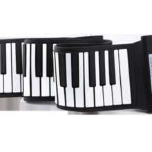 88 key thick hand roll piano MIDI hand roll piano portable hand roll piano
