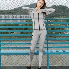 2019 spring new yoga clothes quick-drying running sports suit female Slim breathable gym three-piece