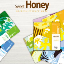 Sodam The Blossom Sweet Honey Refresh Essence Mask 1box 10EA