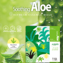 Sodam The Blossom Soothing Aloe Refresh Essence Mask 1box 10EA
