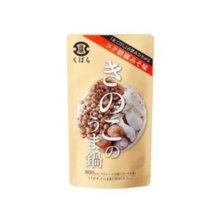 【Kubara Honke】 Mushroom delicious hotpot Sesame miso soup 800 g into 12