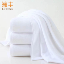Gaoyang bath towel wholesale hotel hotel white bath towel adult thick cotton towel