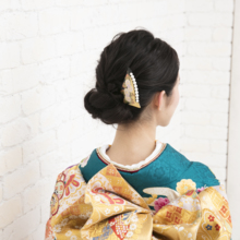 Kanza-shi Makie Japanese Dress Hair decoration Regular use made in Japan kanzasi Watmosphere Wat mosfia [Hair accessories second party Kimono ceremonial dress sleeves Graduation ceremony Entrance ceremony Hair arrangement pearl]