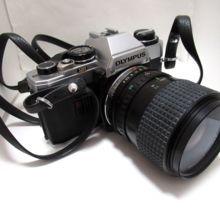 オリンパス フィルムカメラ OM10 35-70mmレンズ付 中古 美 難あり