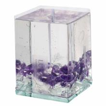 White Sage Cleansing & Meditation Gel Candles LUCAS [AMETHYST]