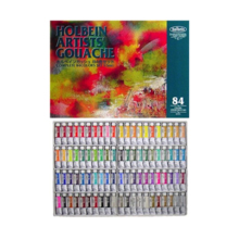 Holbein Artists' Gouache Opaque Watercolor Paint 84 cores conjunto n º 5 (todas as cores)