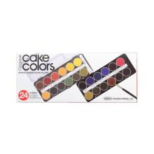 Holbein Solid Water Paint Cake Color Opaque 24 Colors Set