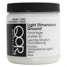 QoR Watercolor Light Dimensional Ground 8 Oz [parallel import goods]
