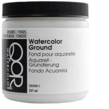 QoR Watercolor Ground 8 Oz