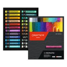 CARAN D'ACH 7400-324 Neo Pastel 24 color set Paper Boxed