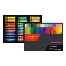 CARAN D'ACH 7400-348 Neo Pastel 48 Colors Set Paper Box