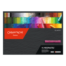 CARAN D'ACHE 7400-396 Neo Pastel 96 color set Paper Boxed