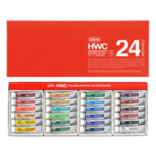 Holbein transparent watercolors 5ml W405 24 color set