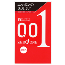 Okamoto zero one plenty of jelly 3 pieces