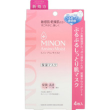 Daiichi Sankyo Health Care Minon Amino Moist Purupurisuri skin mask 22 ml × 4 pieces