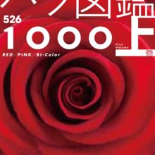 Cut flowers Rose pictorial book 1000 First Volume-2014/10/1