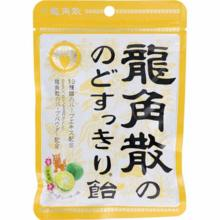 용각산 목 깔끔한 사탕 오키나와 산 시크 맛 88g × 6 봉지