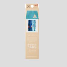 hahatoco paper box pencil pencil space & sea 12 pieces