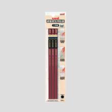 Mitsubishi pencil uni Hard-copy writing pencil 3 corner 3 pcs