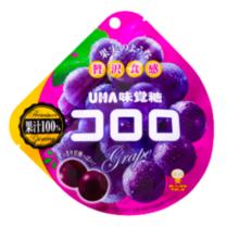 UHA 悠哈味觉 日本水果汁 软糖 cororo 葡萄味